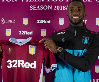 Aston Villa have completed the season-loan loan signing of Yannick Bolasie from Everton.