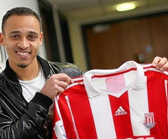 Stoke City have completed the signing of striker Peter Odemwingie from Cardiff City.