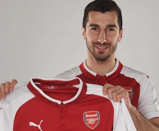 Arsenal have signed Henrikh Mkhitaryan from Manchester United in a deal that sees Alexis Sanchez head the other way.