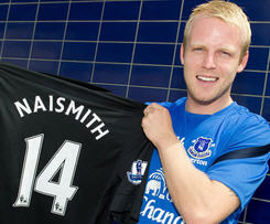 Naismith joins Everton from Rangers.