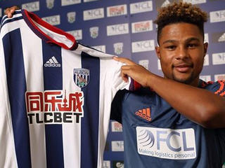 West Brom have signed Arsenal winger Serge Gnabry on a season-long loan.