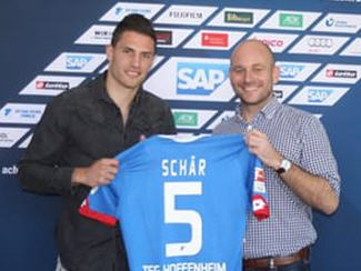 Hoffenheim have announced the signing of Switzerland international Fabian Schar from Basel.