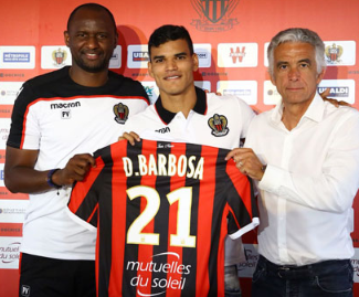 Nice have made Danilo Barbosa their first signing of the transfer window after finalising his transfer from Braga.