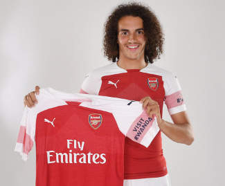 Young French midfielder Matteo Guendouzi has joined Arsenal from Ligue 2 side Lorient for £8million.