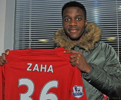 Manchester United winger Wilfried Zaha joins Cardiff City on loan until the end of the season.