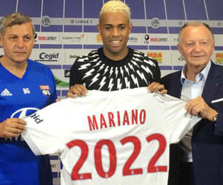 Lyon have completed the signing of Real Madrid striker Mariano Diaz in a move reportedly worth €8 million.