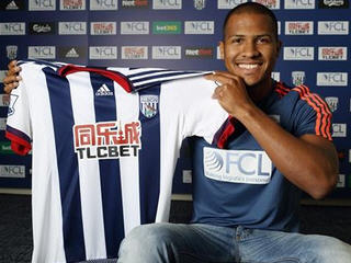West Brom have signed Zenit St Petersburg striker Salomon Rondon for a club record fee of around £12 million.