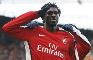 Arsenal Adebayor
