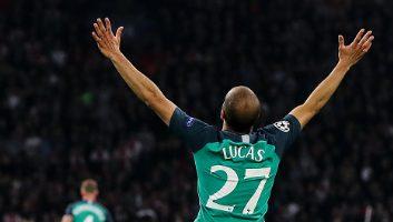 Ajax  2 - 3  Tottenham Hotspur