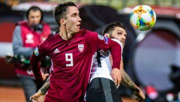 Latvia  1 - 0  Austria