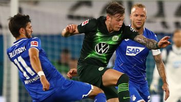Wolfsburg  1 - 1  Hoffenheim