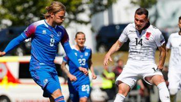 Iceland  1 - 0  Albania