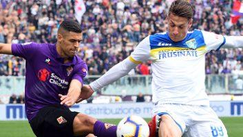 Fiorentina  0 - 1  Frosinone