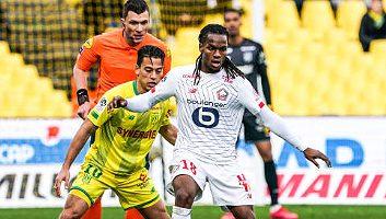 Nantes  0 - 1  Lille