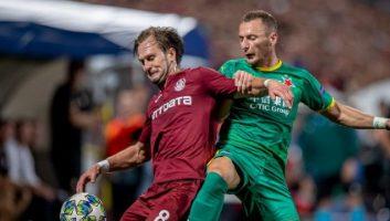 CFR Cluj  0 - 1  Slavia Prague
