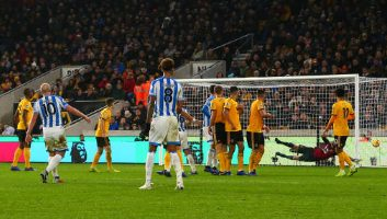 Wolves  0 - 2  Huddersfield Town