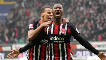Eintracht Frankfurt  2 - 0  RasenBallsport Leipzig