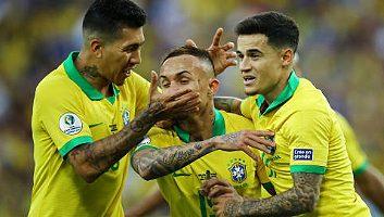 Brazil  3 - 1  Peru