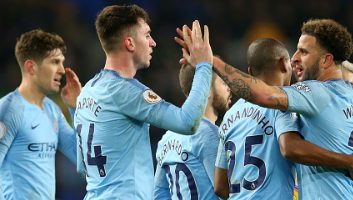 Everton  0 - 2  Manchester City