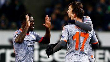 Borussia M'gladbach  1 - 2  Istanbul Basaksehir