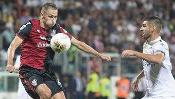 Cagliari  1 - 1  Hellas Verona