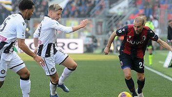 Bologna  1 - 1  Udinese