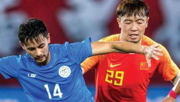China  2 - 0  Philippines