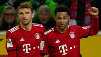 Borussia M'gladbach  1 - 5  Bayern Munich