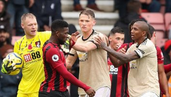 AFC Bournemouth  1 - 0  Manchester United