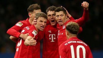 Hertha Berlin  0 - 4  Bayern Munich