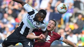 Udinese  1 - 0  Torino