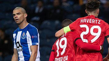 FC Porto  1 - 3  Bayer Leverkusen