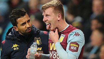 Aston Villa  2 - 0  Newcastle United