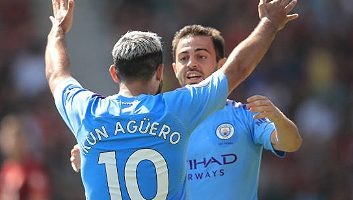 AFC Bournemouth  1 - 3  Manchester City