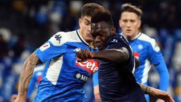 SSC Napoli  1 - 0  Lazio
