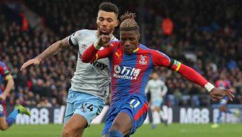 Crystal Palace  1 - 1  West Ham United