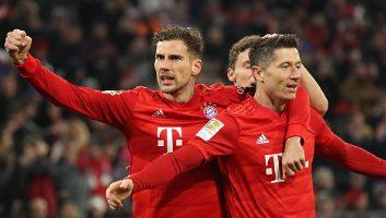 Bayern Munich  5 - 0  Schalke 04