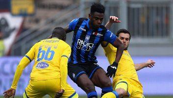 Frosinone  0 - 5  Atalanta