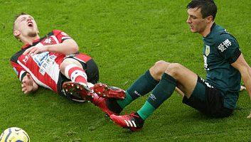 Southampton  1 - 2  Burnley