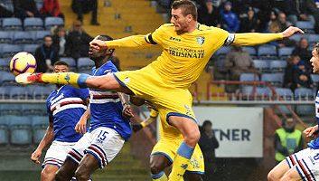 Sampdoria  0 - 1  Frosinone