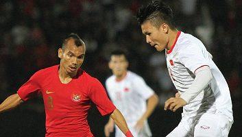 Indonesia  1 - 3  Vietnam