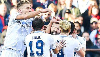 Genoa  2 - 1  Lazio