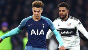 Fulham  1 - 2  Tottenham Hotspur