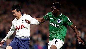 Tottenham Hotspur  1 - 0  Brighton & Hove Albion