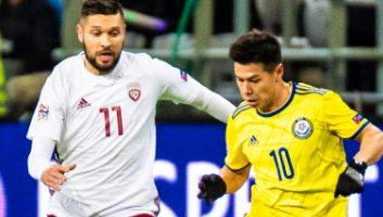 Kazakhstan  1 - 1  Latvia