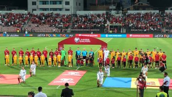 Albania  2 - 0  Moldova