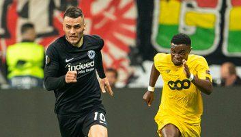 Eintracht Frankfurt  2 - 1  Standard Liege