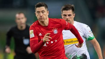 Borussia M'gladbach  2 - 1  Bayern Munich