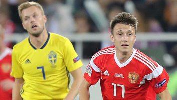 Russia  0 - 0  Sweden