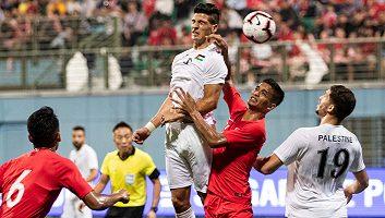 Singapore  2 - 1  Palestine